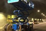 بالابر هیدرولیک ویژه استفاده در تونل ها
