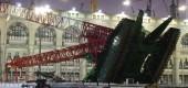 تبرئه شدن کارمندان مسئول در حادثه سقوط جرثقیل در مسجد الحرام