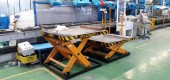 SNOWA production line equipped with CLAIER scissor tables